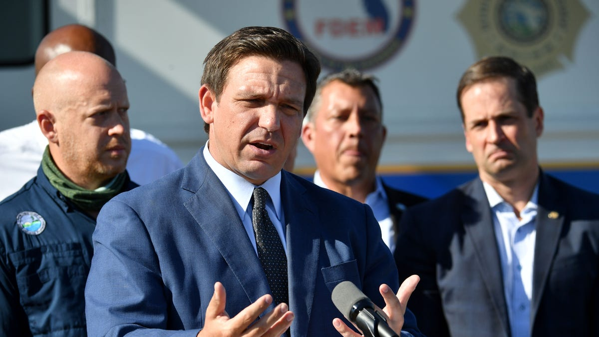 DeSantis and Florida officials plan to close Piney Point in Manatee County