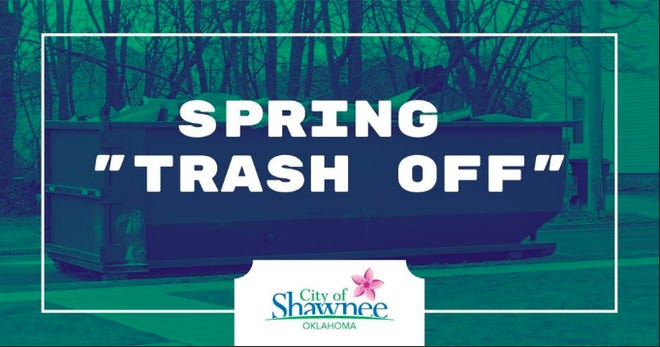 Saturday, April 17, is Shawnee's annual Spring Trash Off Day.