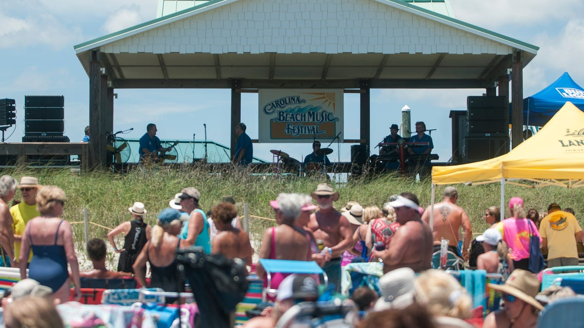 Headliner bands for Carolina Beach Music Festival announced