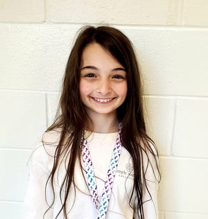 Makynli Gray of Cape Fear Elementary is Pender County Schools' Student of the Week.