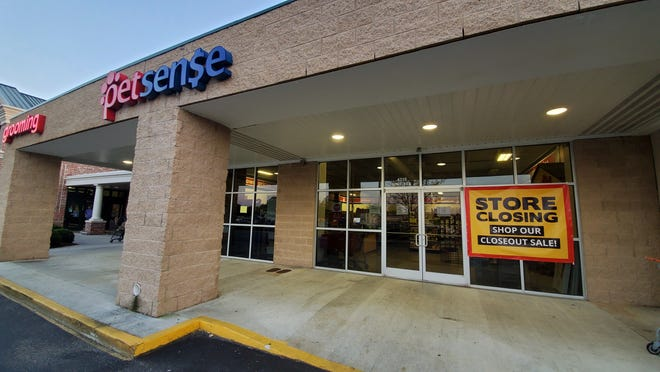 The Petsense store at Shipyard Boulevard is set to close in late April.