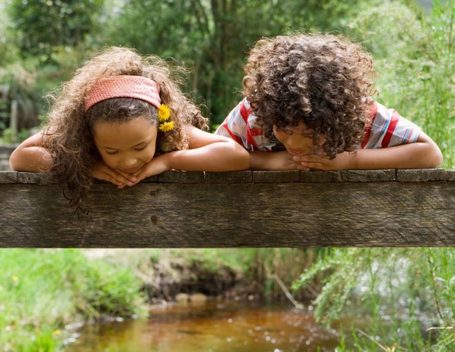 Building connections with the natural world especially at a young age can lead to stewardship action in the future.