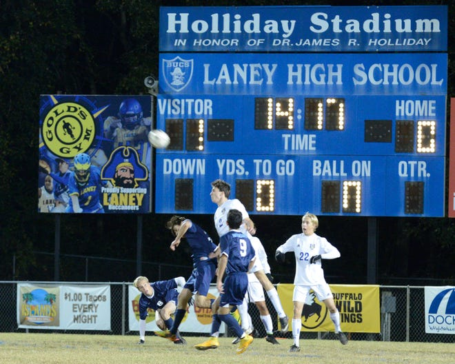 Laney's outdoor stadium has been named after former county schools administrator Rick Holliday since 2005.