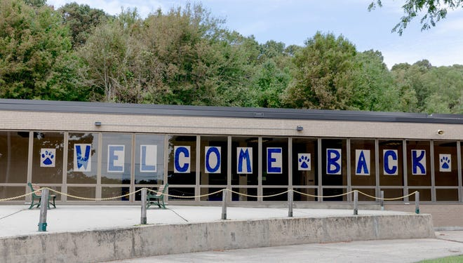 Carrigan Intermediate School in West Haven reopened on Sep. 8. The state is launching a $10.7 million effort to re-engage students who struggled with absenteeism and disengagement during the COVID-19 pandemic.