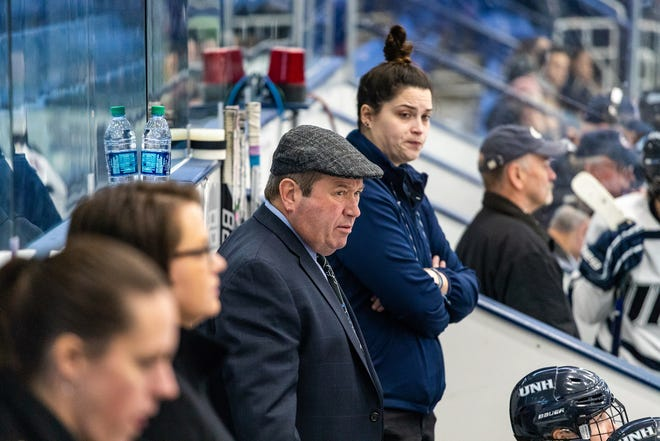 Longtime University of New Hampshire assistant women's hockey coach Bill Bowes retired last week.