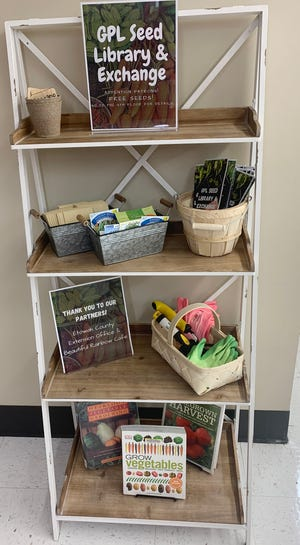 The Gadsden Public Library, Beautiful Rainbow Café and the Etowah County Extension Office have stationed a seed exchange inside the library.