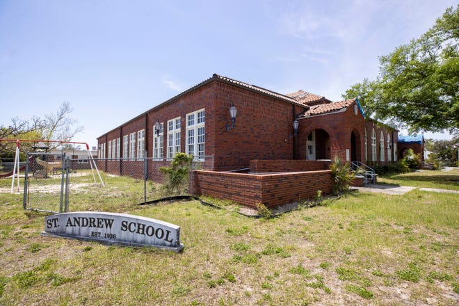 St. Andrews School photographed on Tuesday, April 13, 2021.