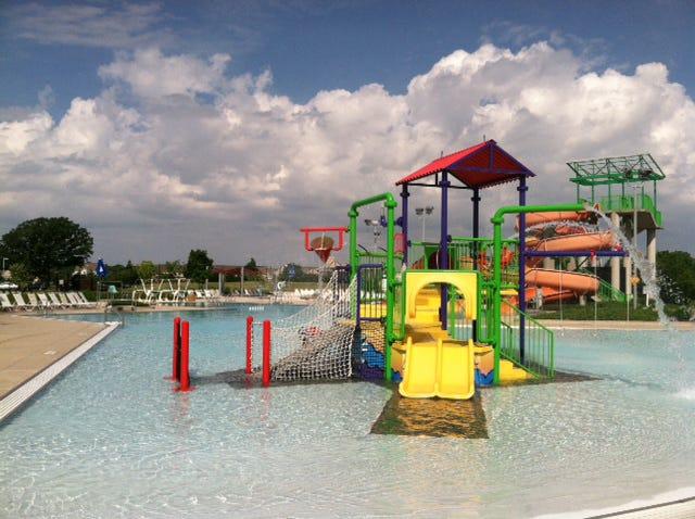 Orange Township's North Orange Park Aquatic Center, 7560 Gooding Blvd.