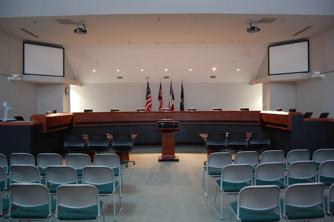 Gahanna and New Albany are considering a shared-services agreement that would allow Gahanna to provide court services for New Albany in the council chambers at Gahanna City Hall, 200 S. Hamilton Road.