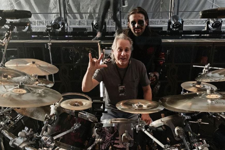 Max Weinberg of E Street Band gets touching birthday tribute from son Jay of Slipknot