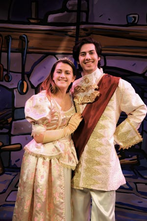"""Cinderella meets her prince in the production of """"Cinderella,"""" scheduled for 2 p.m. Sunday at the Paramount Theatre as the second show for the Children's Performing Arts Series season."""