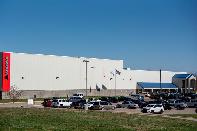 Magna Cosma Casting is planning to invest $31.9 million in an expansion project at its facility in Battle Creek's Fort Custer Industrial Park, pictured on April 13, 2021.