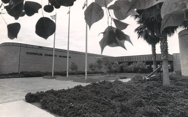 The exterior of the Corpus Christi Museum in June 1977.