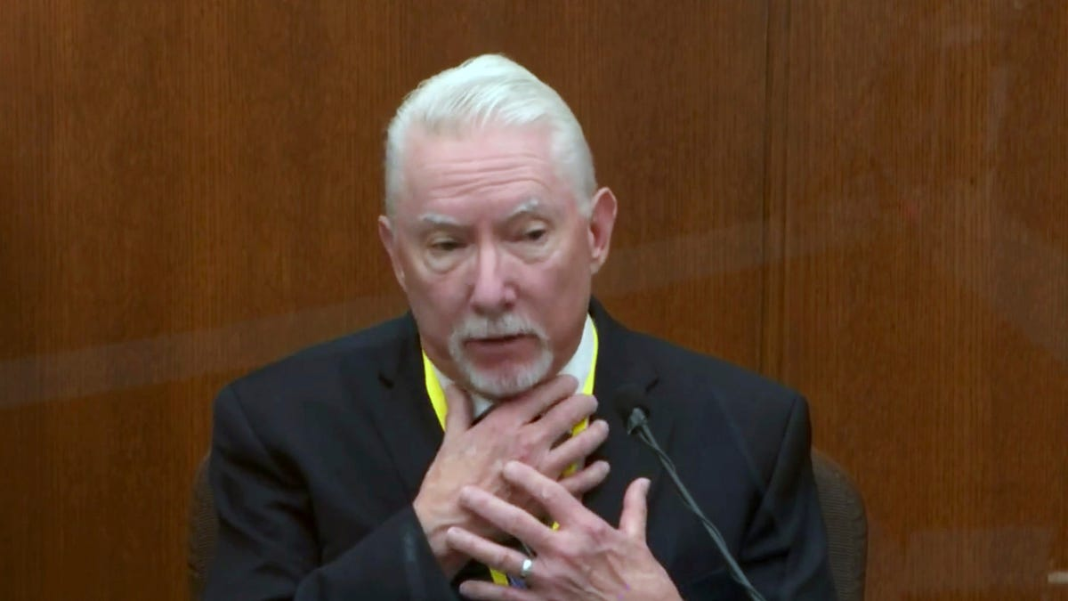 Expert says cop was justified in pinning down George Floyd 2