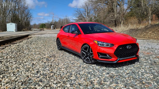 The automatic 2021 Hyundai Veloster N is a value hot hatch with capabilities rivaling a Civic Type R or VW Golf R - but for just $35k.