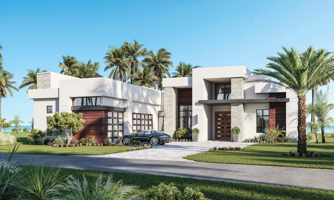 Seagate Development Group announced it has broken ground on a custom home at Miromar Lakes Beach & Golf Club. Here is a rendering of the second custom home at Miromar Lakes – scheduled for completion next month.