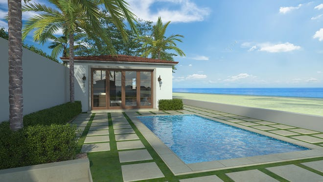Oceanfront cabana