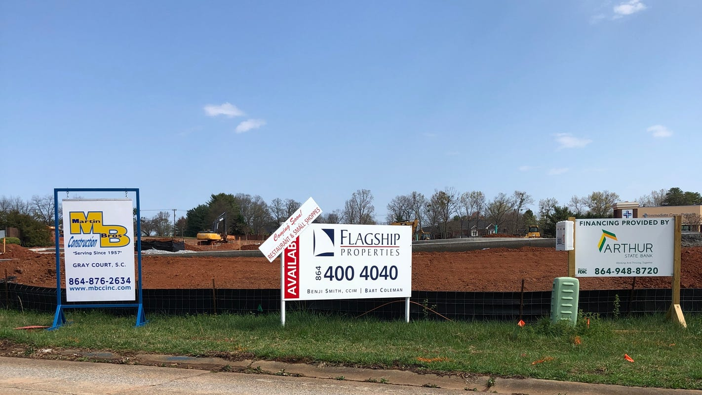 Ask LaFleur: What's the new Pelham Road development next to Lowes Foods?