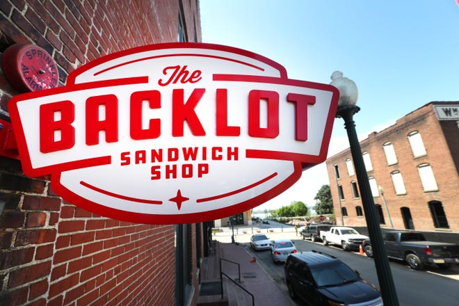The Backlot Sandwich Shop off Front Street downtown Tuesday, April 13, 2021.