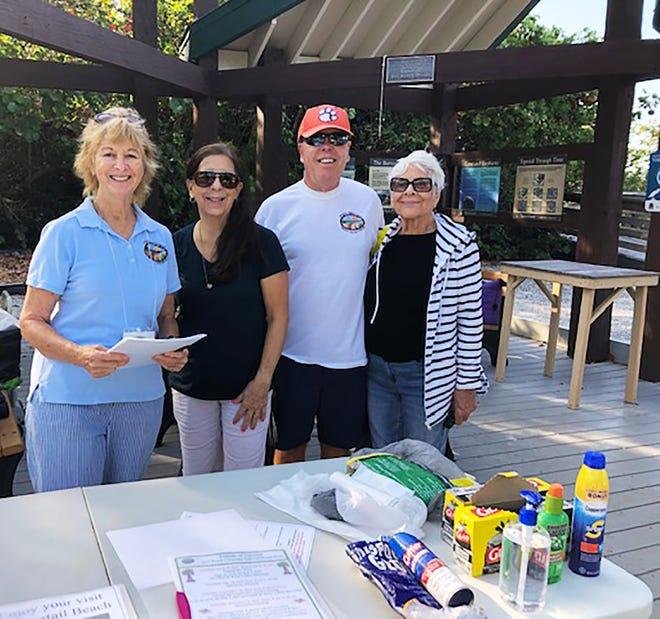 FOTT Board Members Linda Colombo, Susan Lagrotta, and Betty Rosa with group web master Lynn Livingston.