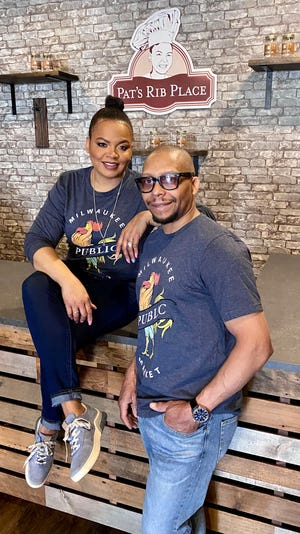 Alisha and Ty Hayes have been operating Pat's Rib Place in Waukesha since 2009. As of summer 2021, they'll also have a location in the Milwaukee Public Market.