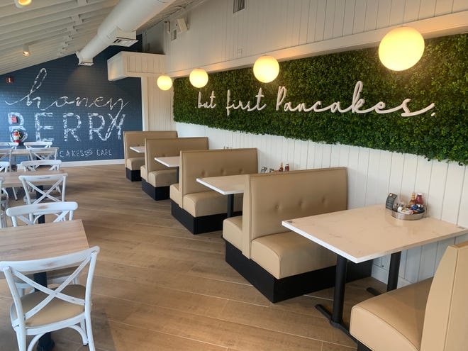 Honey Berry Pancakes and Cafe, a new breakfast and lunch cafe, is now open at 17915 W. Bluemound Road, Brookfield. The restaurant plans to open a second Wisconsin location soon in Greenfield.