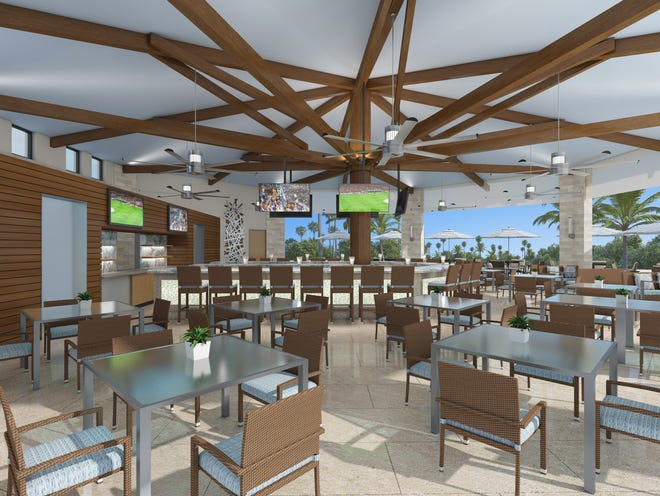 Residents of Naples Lakes Country Club will soon be celebrating the opening of their totally new $3.9 million resort-styled Cabana Cafe and pool with expanded casual dining and poolside recreational activities.