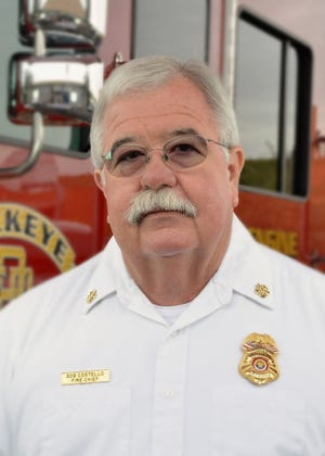 Long-time Buckeye fire chief Bob Costello died April 8 at age 62 from cardiac arrest after contracting COVID-19. His viewing and memorial services will be held April 14 and 15.