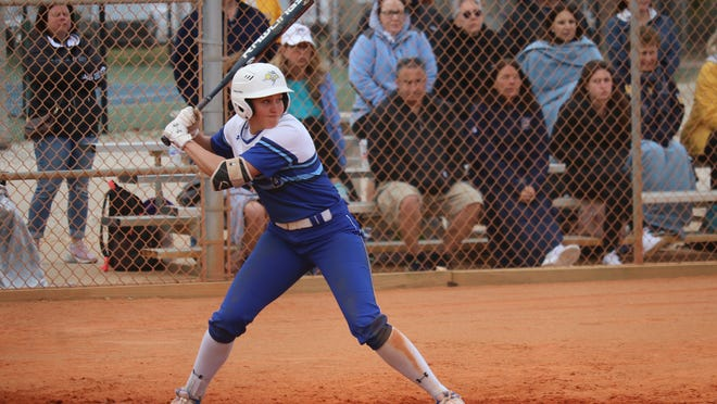 Cylie Halvorson and the SDSU softball team have a five-game lead in the Summit League race