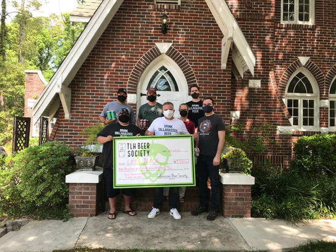 The Tallahassee Beer Society recently wrapped up their 2-month fundraising campaign for Lee's Place by dropping off a check for $5,500 alongside members of the craft beer community.