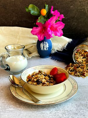 This Easy Homemade Granola is go-to breakfast and snack for any time.