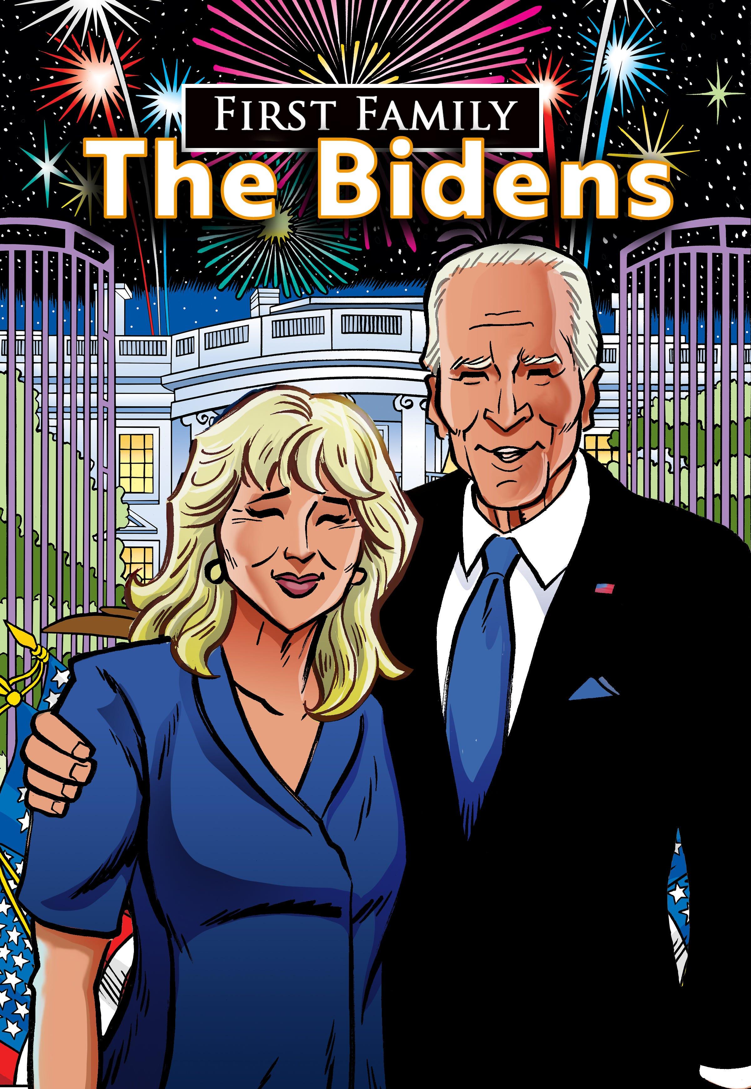 Joe and Jill Biden will get joint comic book,  First Family: The Bidens,  this fall