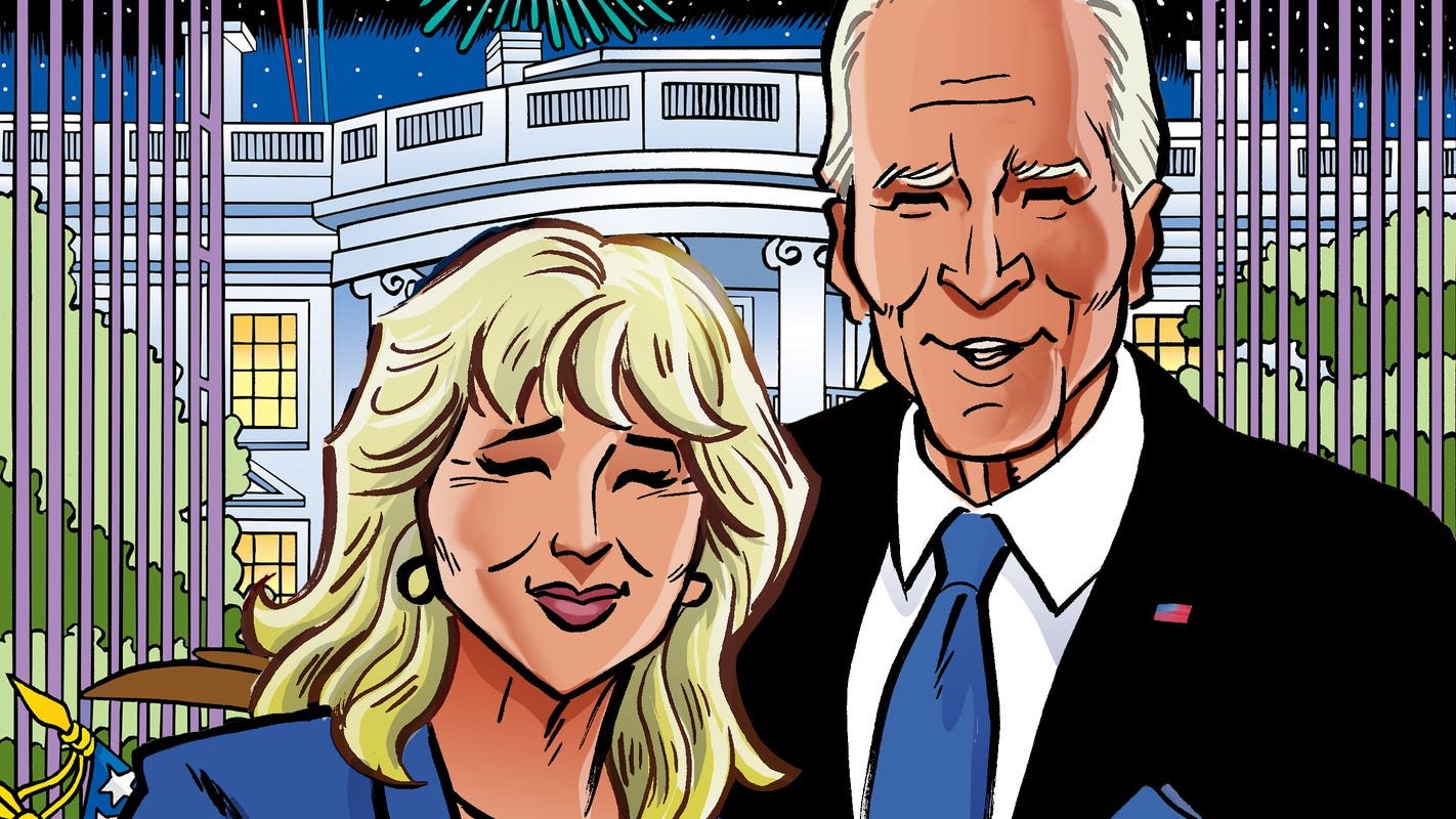 Draw ahead: Joe and Jill Biden will get joint comic book this fall