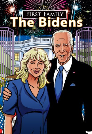 """""""First Family: The Bidens"""" will tell the story of Delaware's most famous family in a graphic novel. The book will be released Oct. 13."""