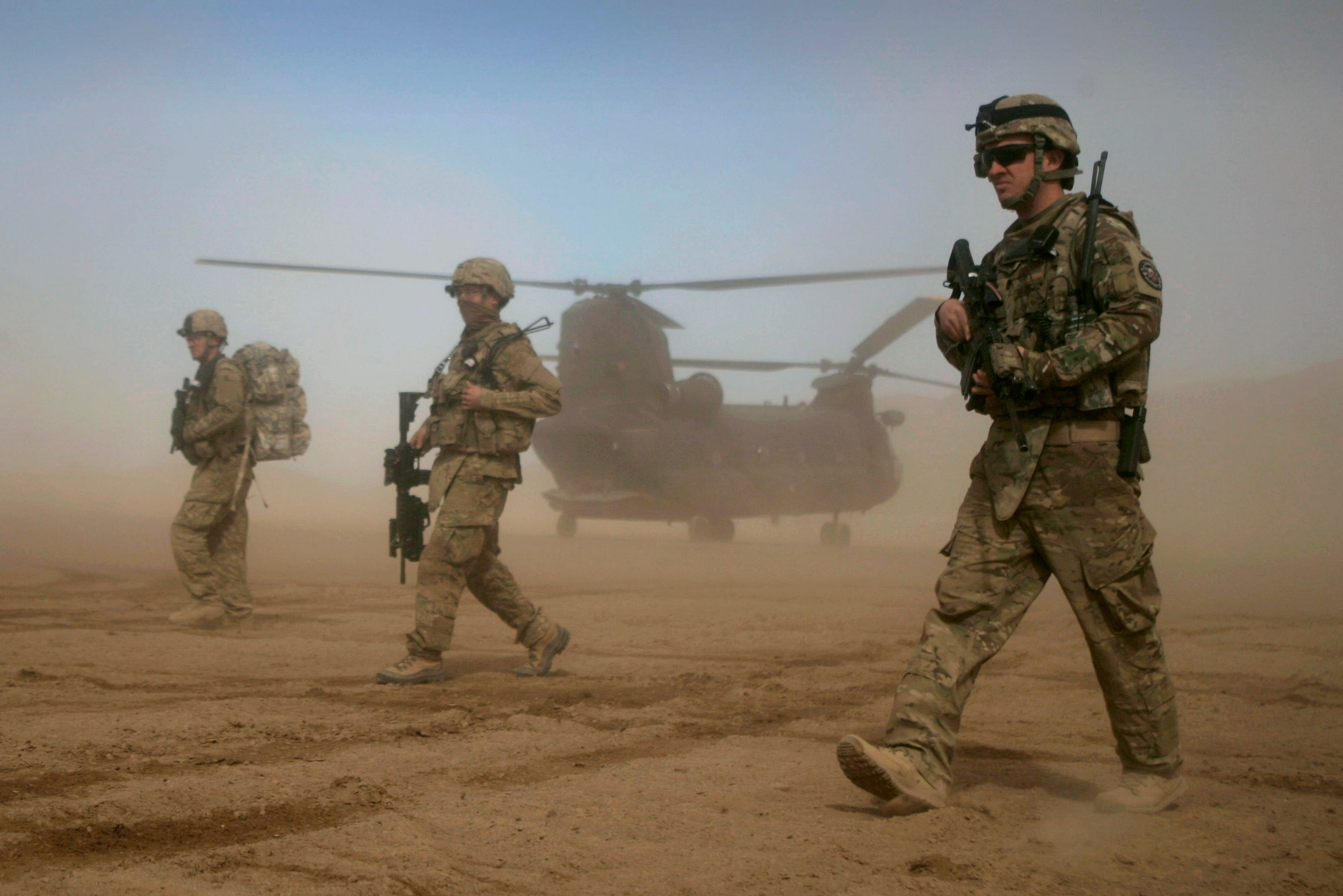 President Biden says U.S. troops will be pulled out of Afghanistan after almost 20 years