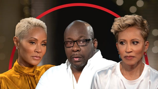 "Bobby Brown sits down with the ladies of ""Red Table Talk"" to discuss the recent death of his son Bobby Brown Jr."