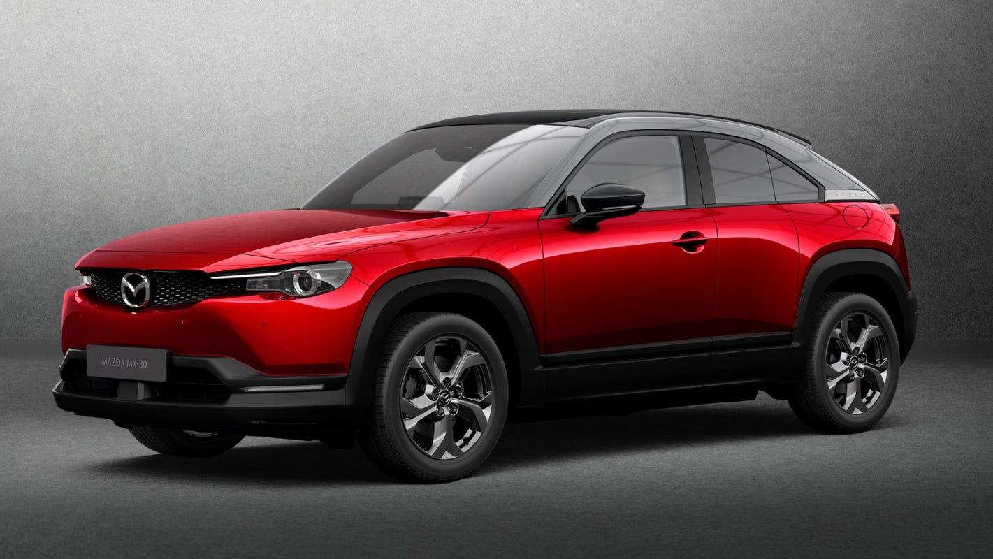 Mazda reveals its first electric vehicle: meet the Mazda MX-30  image
