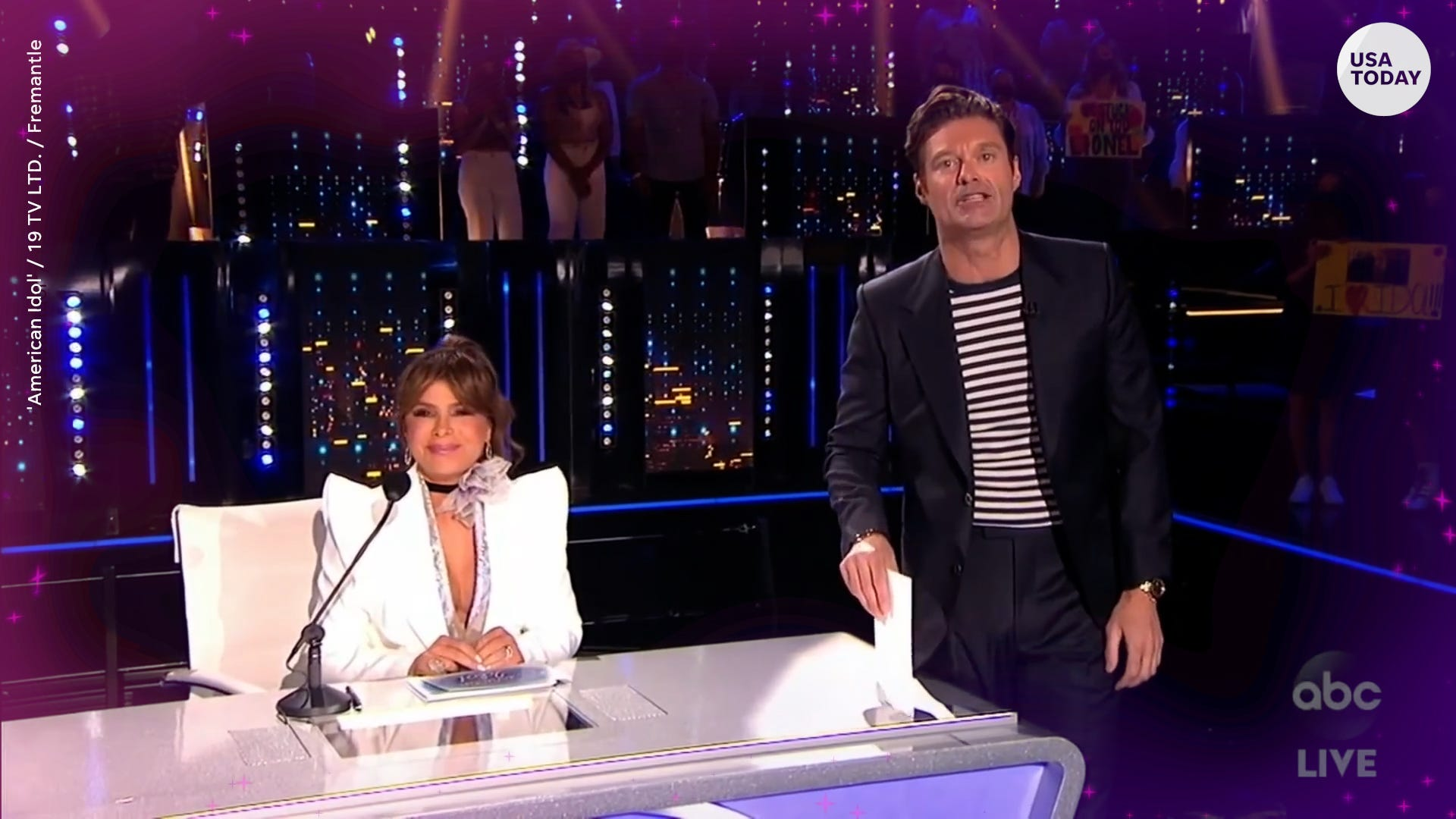 Paula Abdul returns, top contestant drops out in the first live 'American Idol' of 2021