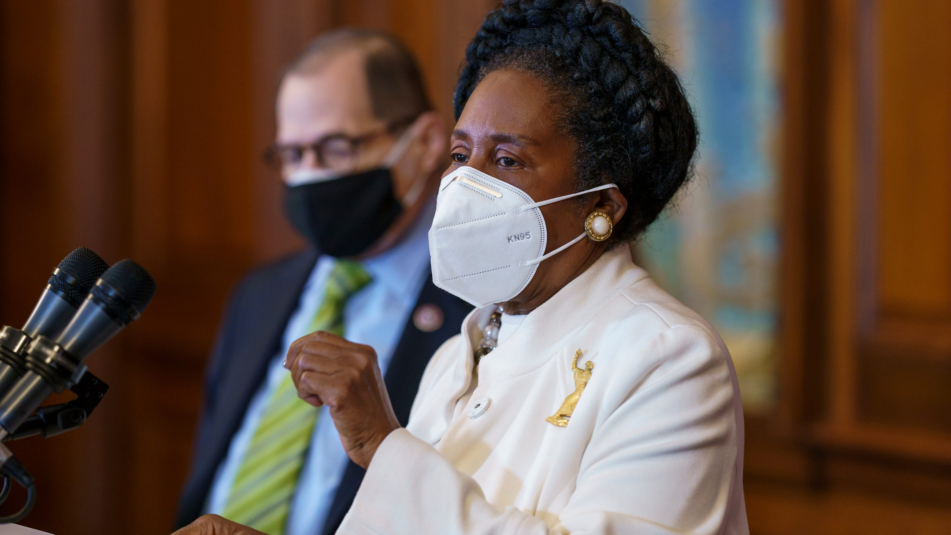Rep. Sheila Jackson Lee is third House Dem arrested in three weeks for voter rights protests