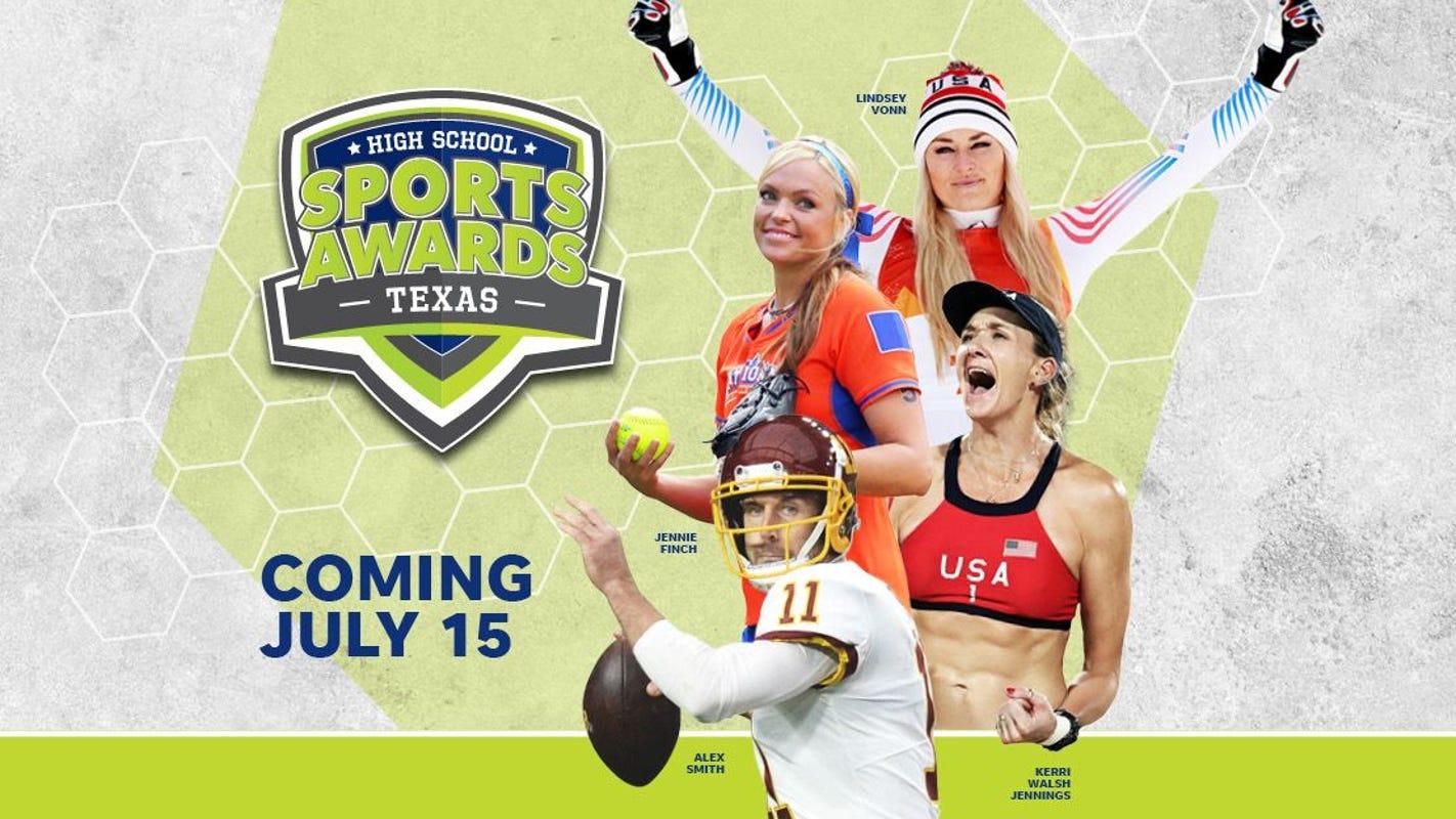 Lindsey Vonn, Alex Smith, Kerri Walsh Jennings, Matt James and Tyler Cameron to be a part of Texas High School Sports Awards