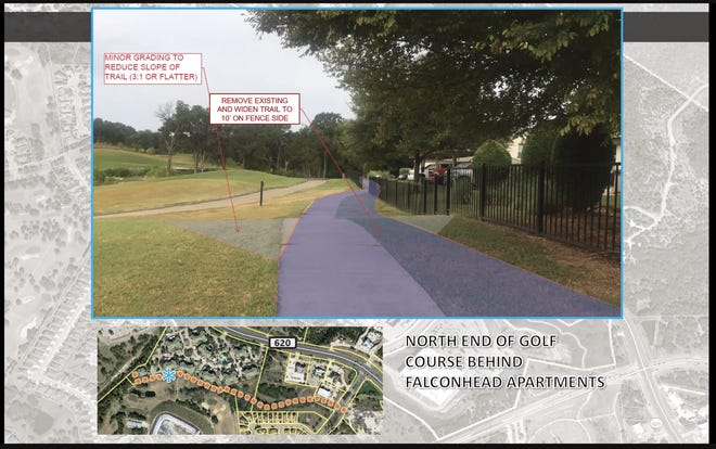 The Bee Cave City Council voted on an agreement with the Falconhead Golf Course that will allow for the construction of a portion of a trail segment between Falconhead Boulevard and Lake Travis High School.