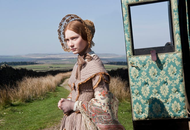 "Mia Wasikowska stars as the title character of the romantic drama ""Jane Eyre"" directed by Cary Fukunaga."
