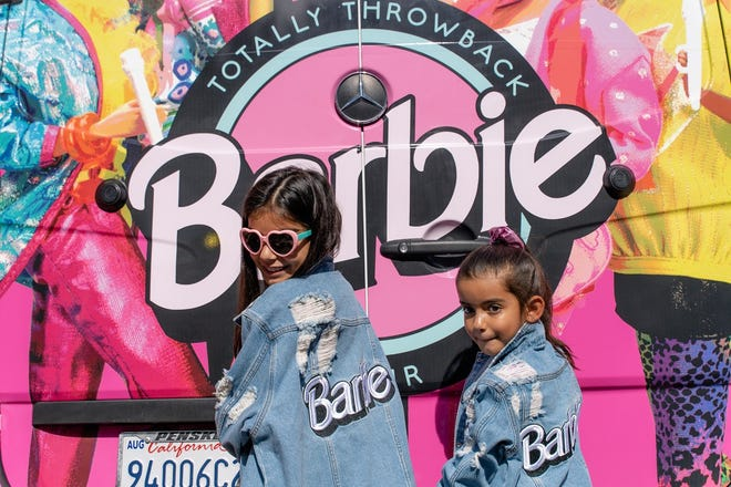 The Barbie Pop-Up Truck will make a pit stop at The Domain on April 17.