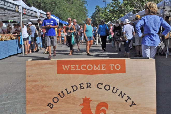 The Boulder County Farmers Market draws thousands of visitors every week to what is one of the largest and best-known farmers markets in the country. Last year the market moved some of its sales online in response to the pandemic. Online ordering options have become a critical outlet as consumers change their shopping habits and become more comfortable with buying fresh produce online.