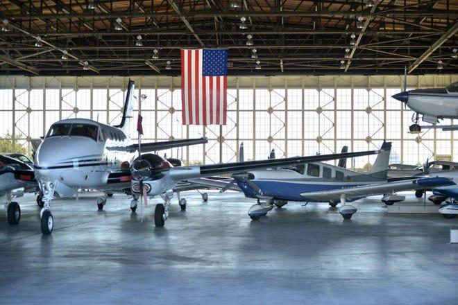 Daniel Field Airport hangar in Augusta, Ga.