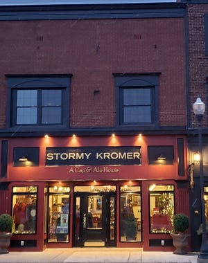 Stormy Kromer A Cap and Ale House, owned by Marcella and John Costin, received a prestigious award from the state and will be honored in a ceremony in July.
