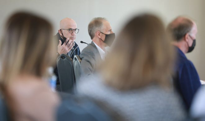 """Columbus Zoo and Aquarium board member Brian O'Mara voiced one of the few public comments about the investigations at the zoo. He said it was time to """"take a hard look in the mirror"""" and figure out how the board could change. He is co-chair of the board's governance committee."""