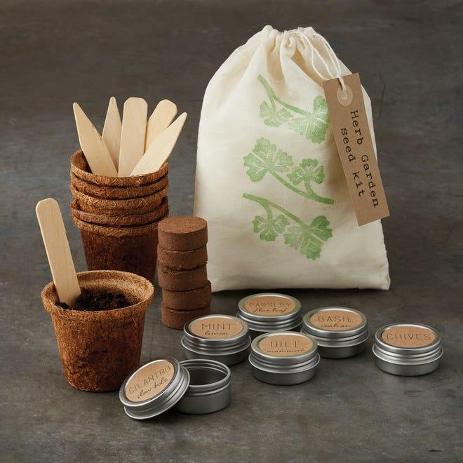Herb garden seed kit, $29.95 at Williams Sonoma