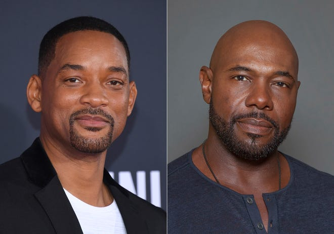 """Will Smith (left) and Antoine Fuqua (right) have pulled production of their runaway slave drama """"Emancipation"""" from Georgia over the state's recently enacted law restricting voting access."""