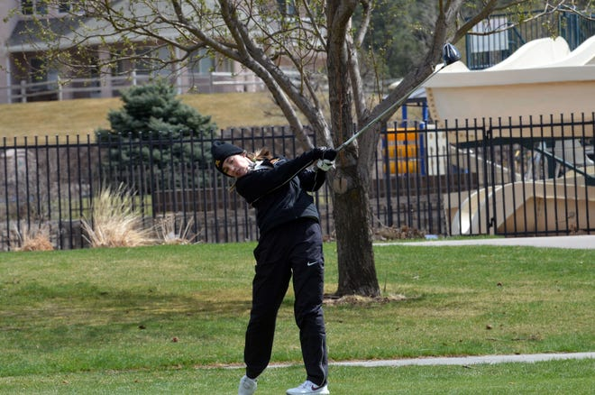 Lachlan Larson and the Minnesota Crookston women's golf team finished seventh at the Hardrocker Invite to open their season.
